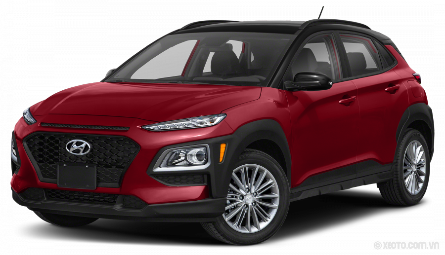Hyundai Kona 2020 Màu Pulse Red w/Black Roof