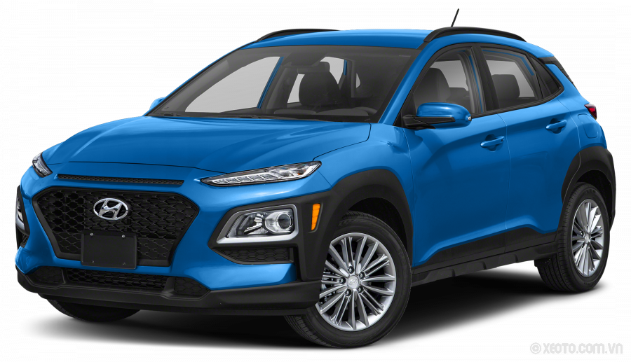 Hyundai Kona 2020 Màu Surf Blue w/Dark Gray Roof