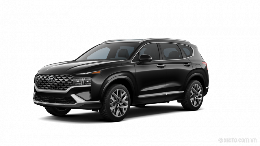 Hyundai SantaFe 2021 Màu Twilight Black