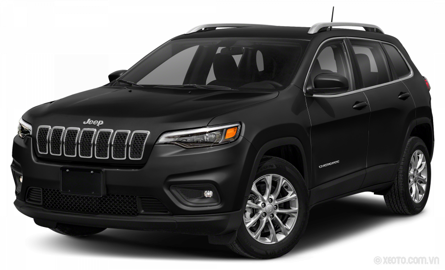 Jeep Cherokee 2021 Màu Diamond Black Crystal Pearlcoat