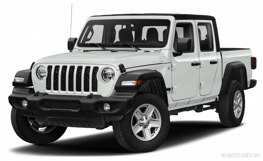 Jeep Gladiator 2021 Màu Bright White Clearcoat