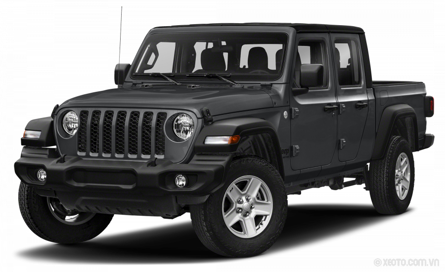 Jeep Gladiator 2021 Màu Sting-Gray Clearcoat