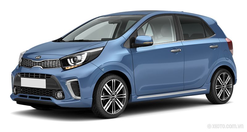Kia Morning 2021 Màu Alice Blue