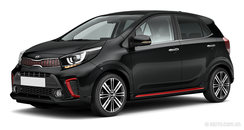 Kia Morning 2020 Màu Aurora Black Pearl