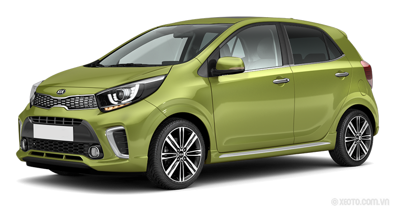 Kia Morning 2021 Màu Lime Light