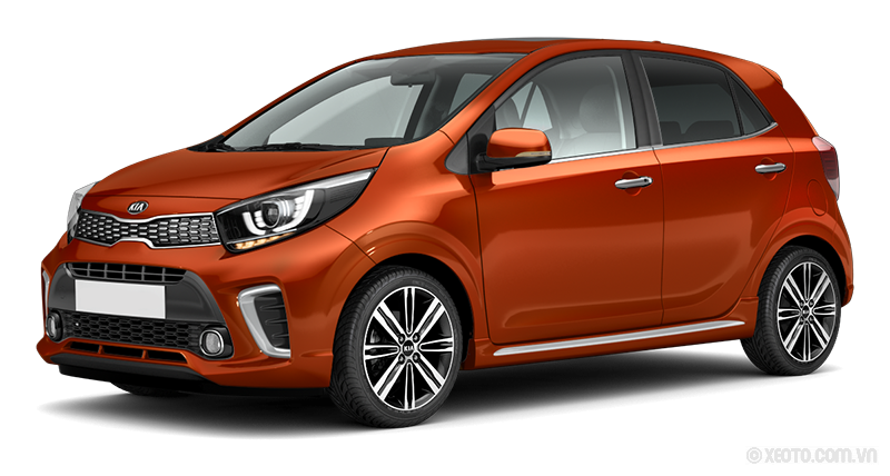 Kia Morning 2021 Màu Pop Orange