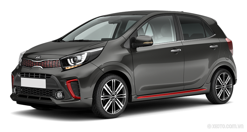 Kia Morning 2021 Màu Titanium Gray