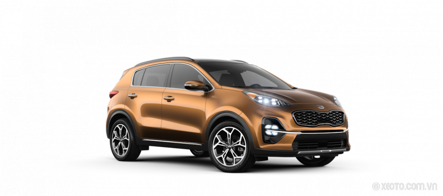 Kia Sportage 2020 Màu Burnished Copper