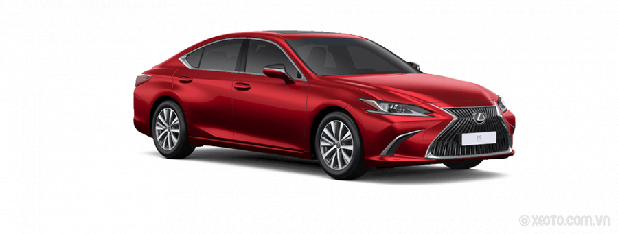 Lexus ES250 2021 Màu Red Mica Crystal Shine
