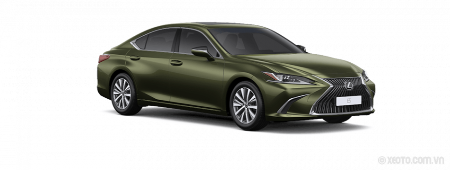 Lexus ES250 2021 Màu Sunlight Green