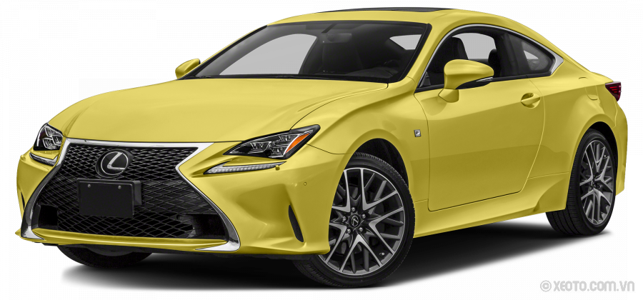 Lexus RC 2020 Màu Flare Yellow