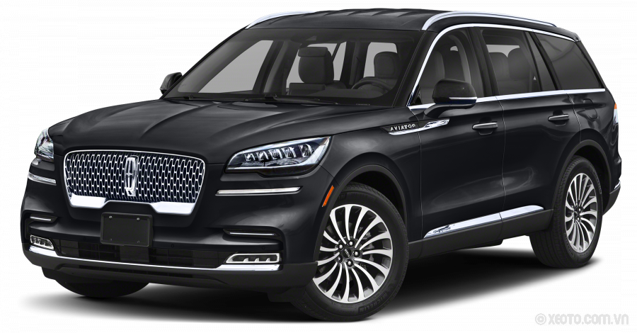 Lincoln Aviator 2021 Màu Chroma Caviar Dark Gray Premium Metallic