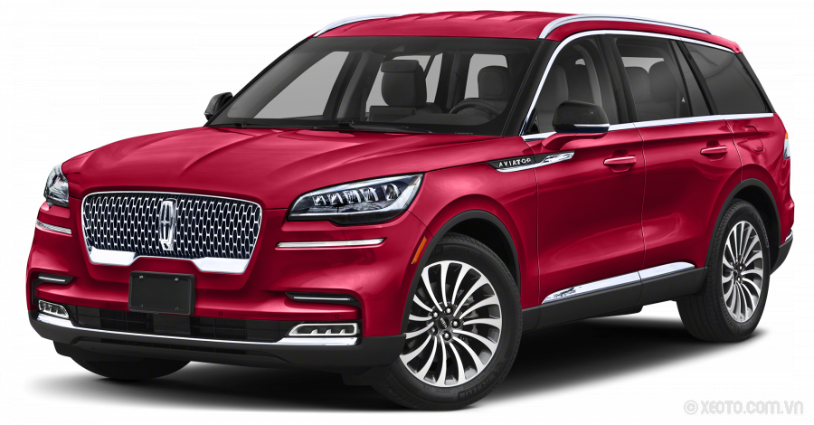 Lincoln Aviator 2021 Màu Red Carpet Metallic Tinted Clearcoat