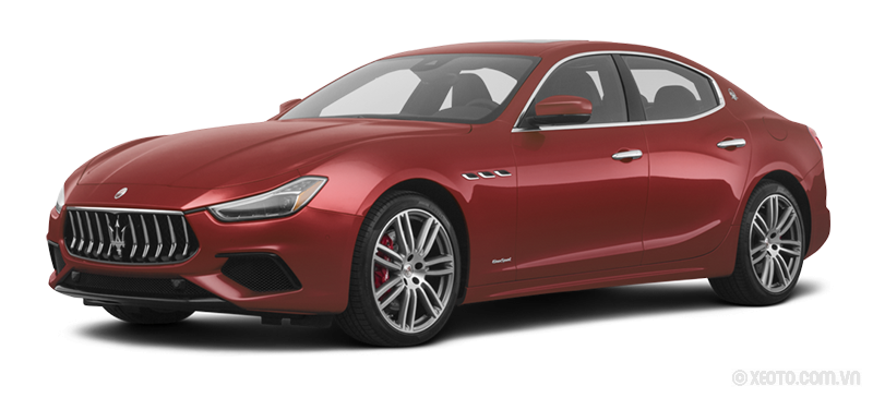 Maserati Ghibli 2020 Màu Ruby red