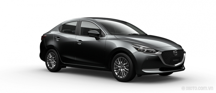Mazda 2 2020 Màu Machine Grey Metallic