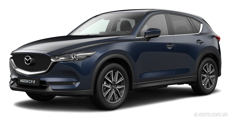 Mazda CX-5 2021 Màu Deep Crystal Blue