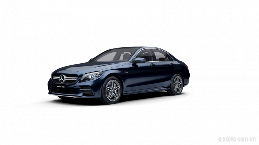 Mercedes-AMG C43 2020 Màu Cavansite Blue metallic