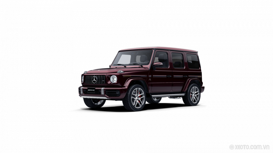 Mercedes-AMG G65 2020 Màu Rubellite Red metallic