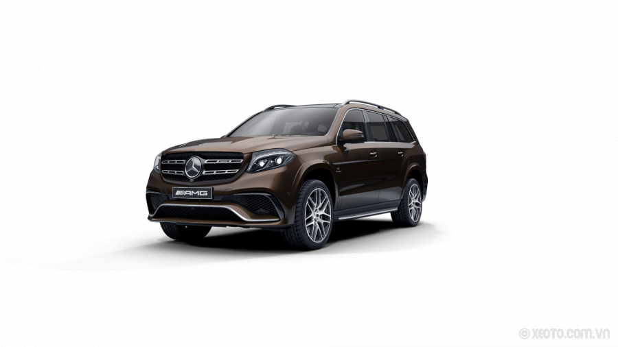 Mercedes-AMG GLS 63 2020 Màu Citrine Brown Metallic