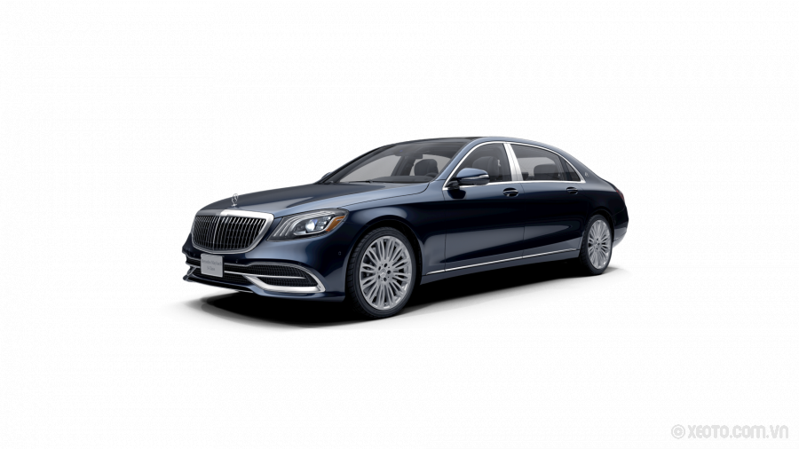 Mercedes-Maybach S560 2020 Màu Cavansite Blue metallic