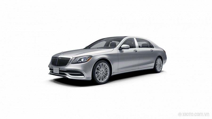 Mercedes-Maybach S560 2020 Màu Iridium Silver metallic