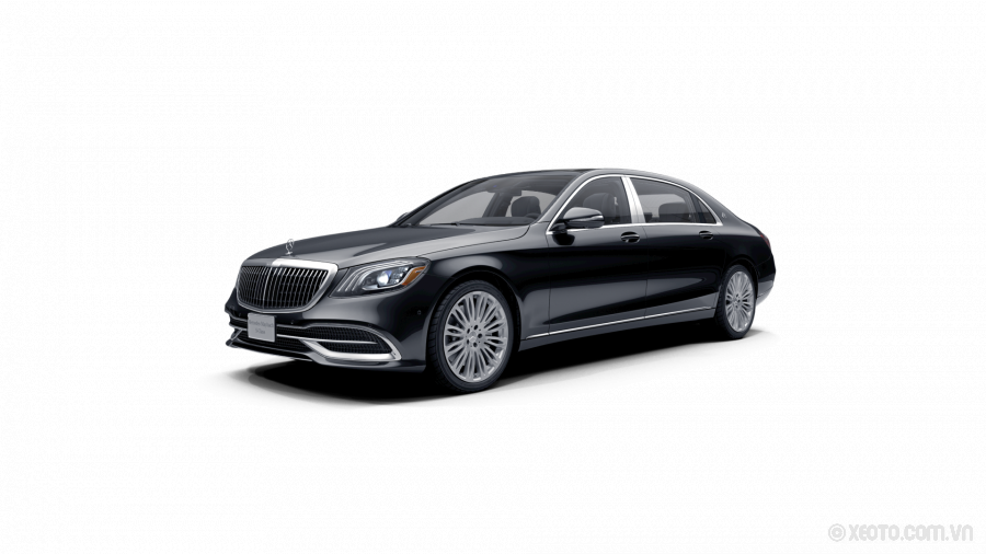Mercedes-Maybach S560 2020 Màu Obsidian Black metallic