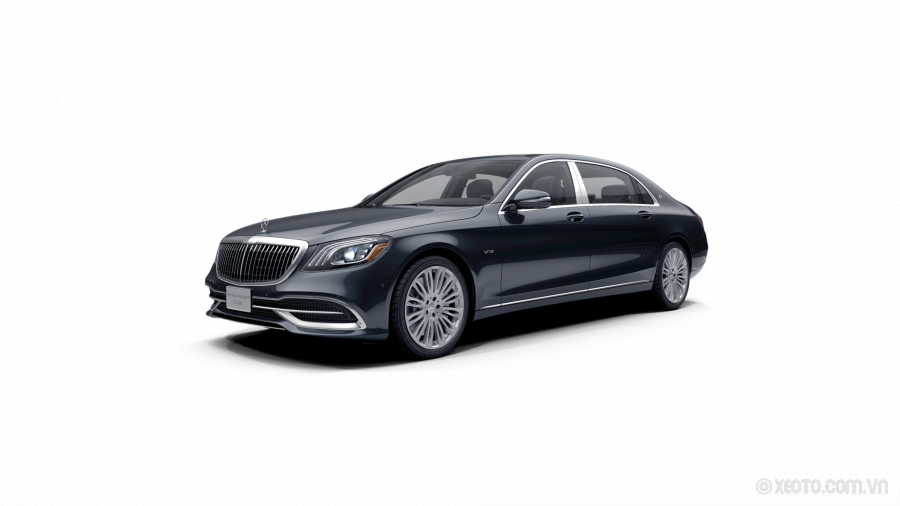 Mercedes-Maybach S600 2020 Màu Anthracite Blue metallic