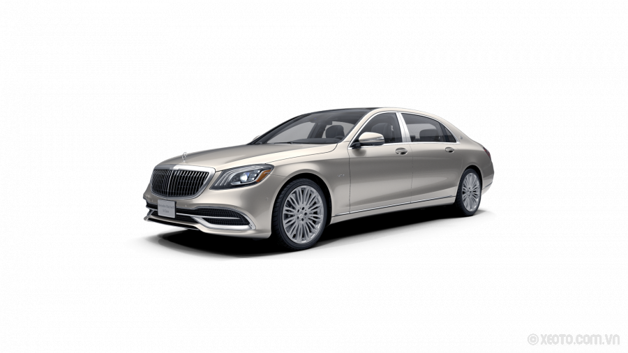 Mercedes-Maybach S600 2020 Màu Aragonite Silver metallic
