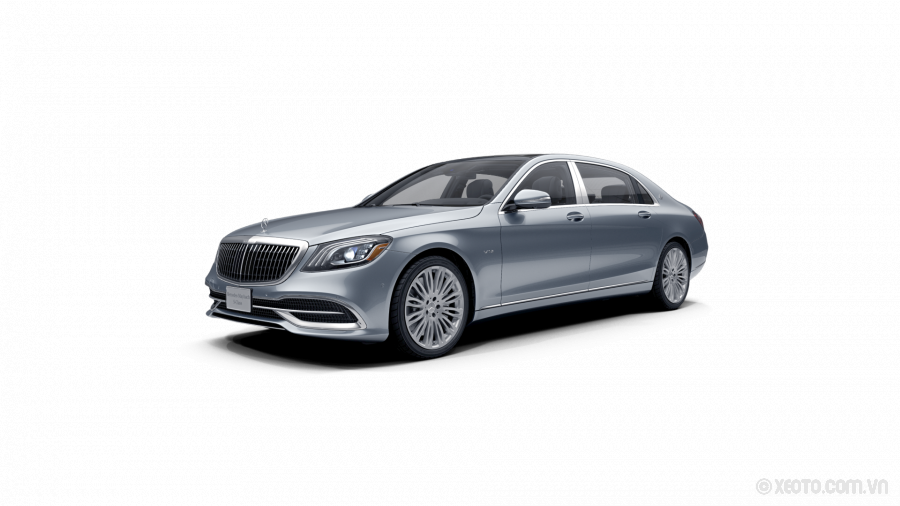 Mercedes-Maybach S600 2020 Màu Diamond Silver metallic