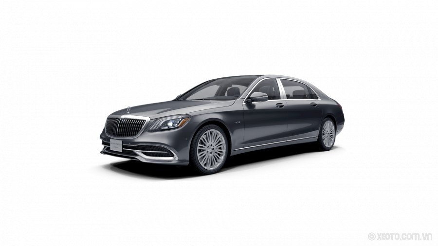 Mercedes-Maybach S600 2020 Màu Selenite Grey metallic