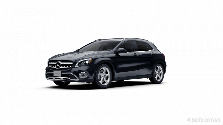 Mercedes-Benz GLA 200 2020 Màu Cosmos Black metallic