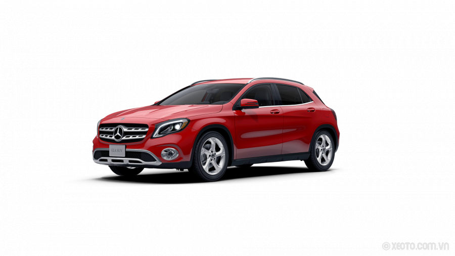 Mercedes-Benz GLA 200 2020 Màu Jupiter Red