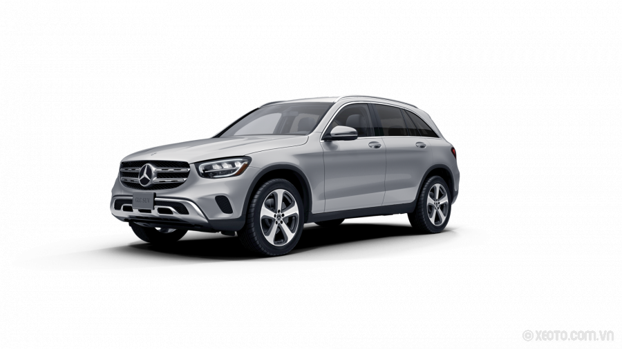 Mercedes-Benz GLC 300 2020 Màu Iridium Silver metallic