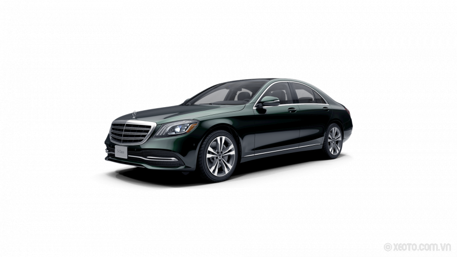 Mercedes-Benz S400 2020 Màu Emerald Green metallic