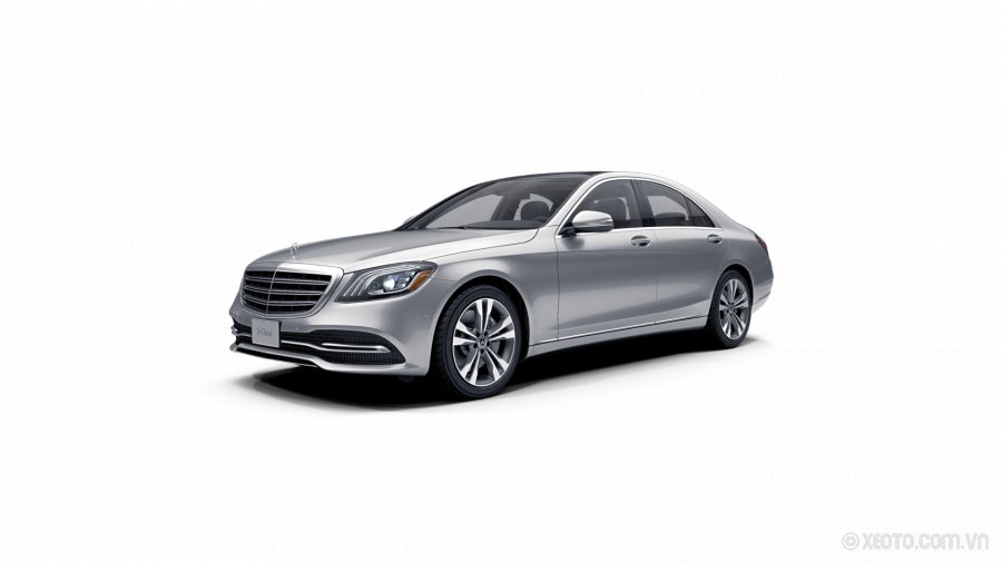 Mercedes-Benz S400 2020 Màu Iridium Silver metallic