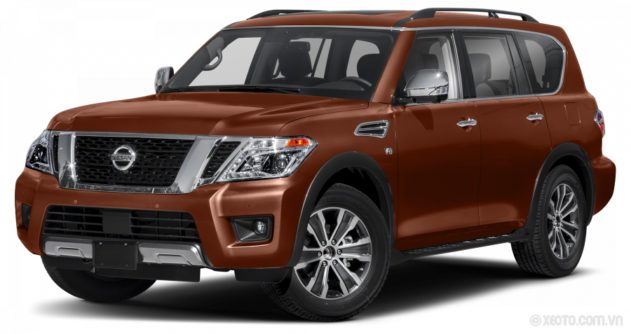 Nissan Armada 2020 Màu Forged Copper Metallic