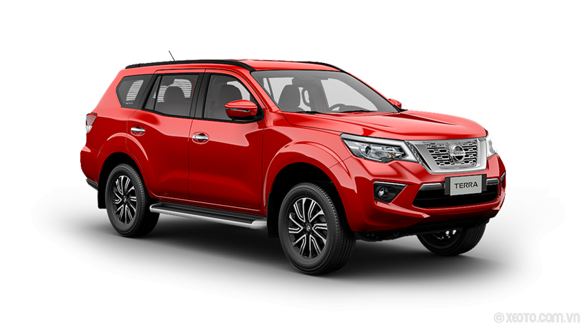 Nissan Terra 2020 Màu Burning Red