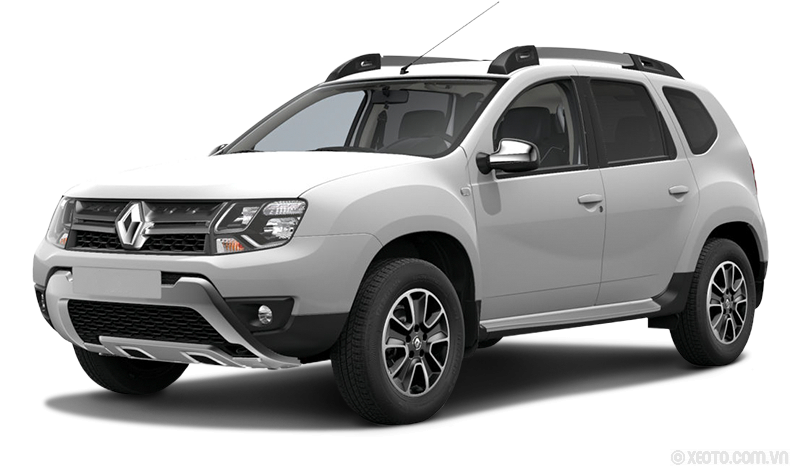 Renault Duster 2020 Màu White ice