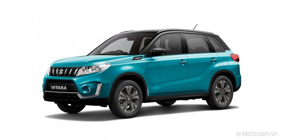 Suzuki Grand Vitara 2020 Màu Atlantis Turquoise Pearl Metallic with Cosmic Black Roof