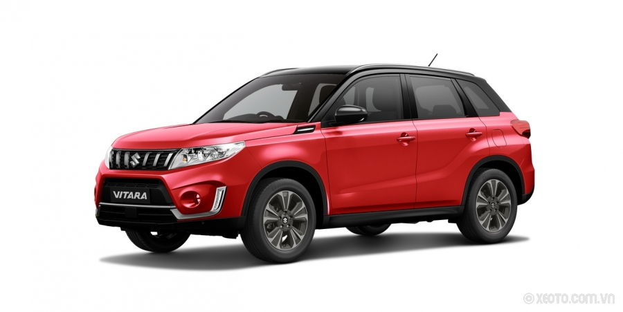 Suzuki Grand Vitara 2020 Màu Bright Red with Cosmic Black Roof