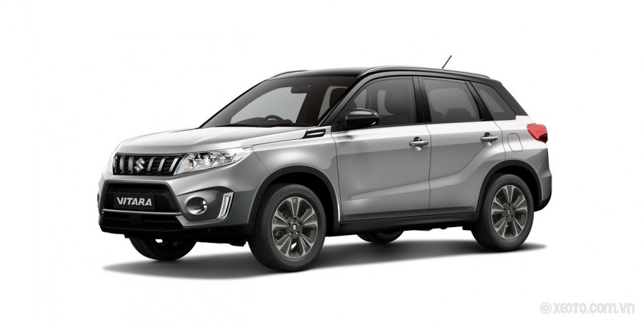 Suzuki Grand Vitara 2020 Màu Galactic Grey Metallic with Cosmic Black Roof