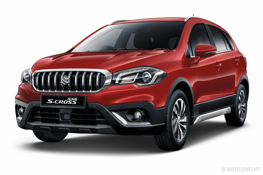 Suzuki SX4 S-Cross 2021 Màu Energetic Red