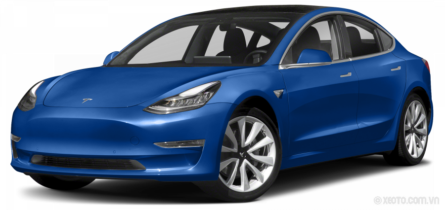 Tesla Model 3 2020 Màu Deep Blue Metallic