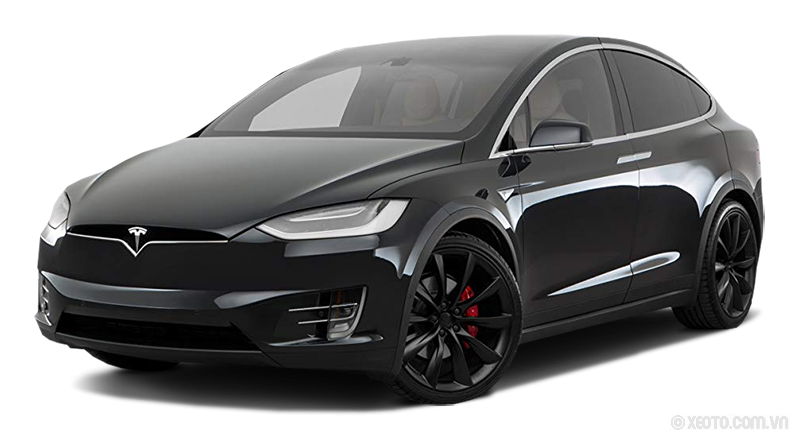 Tesla Model X 2020 Màu Black metallic