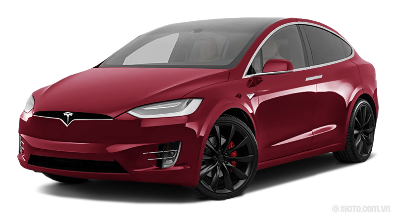 Tesla Model X 2020 Màu Red metallic