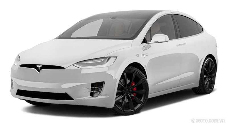 Tesla Model X 2020 Màu White metallic