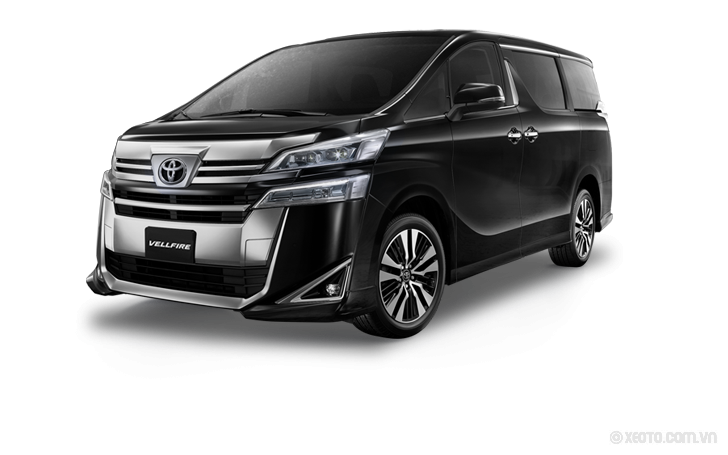 Toyota Alphard 2021 Màu Burning Black