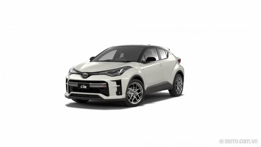 Toyota C-HR 2021 Màu Crystal Pearl with Black Roof