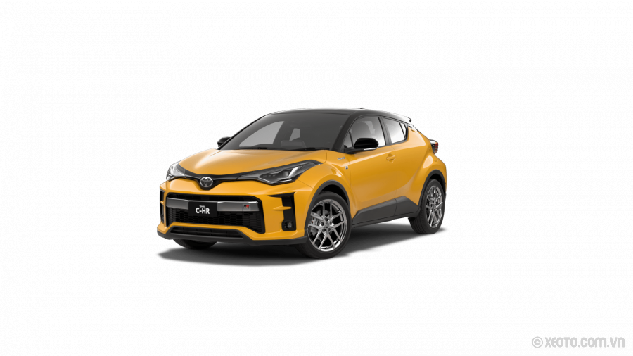 Toyota C-HR 2021 Màu Hornet Yellow with Black Roof
