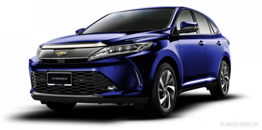 Toyota Harrier 2021 Màu Dark Blue Mica Metallic